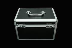 La chiave sulla scatola di stoccaggio Fotografie Stock Libere da Diritti