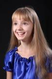 La chica joven feliz Imagen de archivo