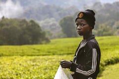 La chica joven ruandesa Imagenes de archivo