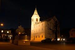 La chiesa Immagini Stock Libere da Diritti