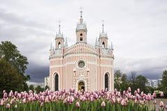 La chiesa Immagini Stock