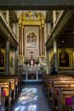 La chiesa in Abbey Begijngof Immagine Stock Libera da Diritti