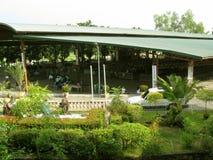 La chiesa all'aperto, santuario nazionale di pietà divina in Marilao, Bulacan immagine stock libera da diritti