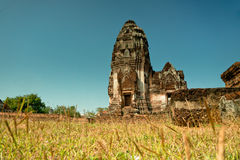 La chiesa antica di Buddha Fotografia Stock