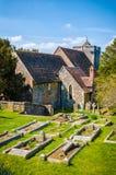 La chiesa a Canterbury, la prima chiesa di St Martin fondata in en Fotografie Stock