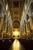 La chiesa cattolica del duomo di Napoli Immagine Stock Libera da Diritti