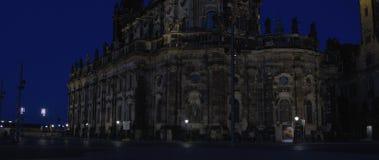 La chiesa cattolica della corte reale del 21:9 ROSSO della Sassonia 5K WS Immagine Stock