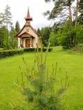 La chiesa cattolica della st Helena Poprad Slovakia Fotografie Stock Libere da Diritti