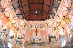 La chiesa cattolica romana Fotografia Stock Libera da Diritti