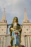 La chiesa cattolica romana Fotografia Stock