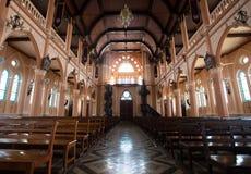 La chiesa cattolica romana, provincia di Chanthaburi, Fotografie Stock