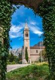 La chiesa cattolica Sant'Eustachio Immagini Stock
