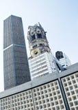 La chiesa commemorativa a Berlino Immagini Stock Libere da Diritti