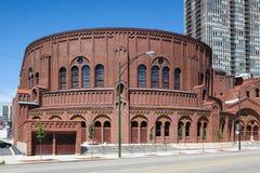 La chiesa commemorativa di D.L.Moody in Chicago immagine stock