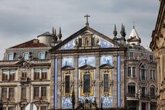 La chiesa Congregados di Sant'Antonio a Oporto Fotografia Stock Libera da Diritti
