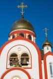 La chiesa cristiana fotografie stock