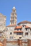 La chiesa in Croazia, spaccatura Fotografie Stock Libere da Diritti