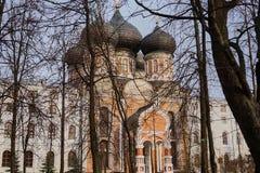 La chiesa d'argento Fotografia Stock