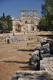 La chiesa degli Stylites di Simeon del san Fotografie Stock