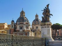 La chiesa del nome più santo di Maria, Roma fotografie stock