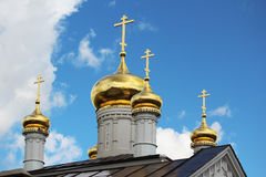 La chiesa del profeta Iliya, Nižnij Novgorod Fotografie Stock Libere da Diritti