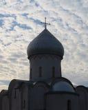 La chiesa del salvatore su Nereditsa Immagine Stock Libera da Diritti