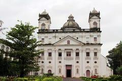 La chiesa del san Cajetan di provvidenza Divine di Goa anziano, mim fotografia stock
