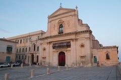 La chiesa del san Francis Immaculate in Noto, Sicilia, Italia Immagine Stock Libera da Diritti