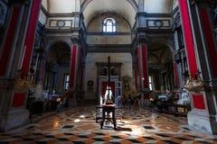 La chiesa del San Salvador, Venezia fotografia stock libera da diritti