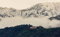 La chiesa del santuario di Belmont vicino a Torino, Piemonte, Italia Fotografia Stock Libera da Diritti