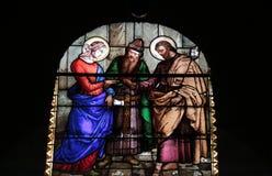 La chiesa dell'annuncio fotografia stock