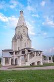 La chiesa dell'ascensione in Kolomenskoye fotografia stock libera da diritti