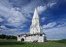 La chiesa dell'ascensione (1532), Kolomenskoye, Mosca, Russia Immagini Stock