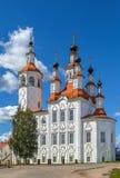 La chiesa dell'entrata in Gerusalemme, Totma, Russia immagine stock