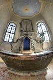 La chiesa dell'esaltazione del dettaglio inter- santo della a Fotografie Stock