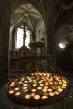 La chiesa dell'osso in Kutna Hora, repubblica Ceca fotografia stock libera da diritti