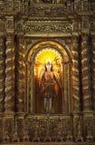 La chiesa della basilica tiene il mortale rimane dello St Francis Fotografia Stock Libera da Diritti