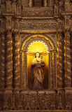 La chiesa della basilica tiene il mortale rimane dello St Francis Fotografia Stock