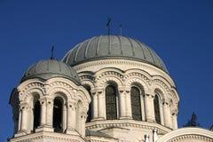 La chiesa della guarnigione a Kaunas Fotografie Stock Libere da Diritti