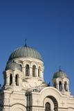 La chiesa della guarnigione a Kaunas Immagini Stock