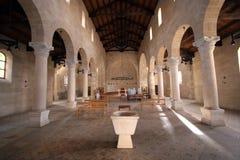 La chiesa della moltiplicazione Fotografia Stock