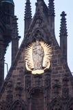 La chiesa della nostra signora prima di Týn Praga, repubblica Ceca immagine stock libera da diritti