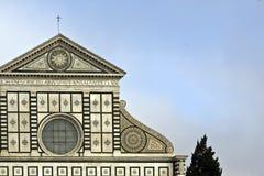 La chiesa della novella dello S. Maria immagini stock libere da diritti