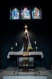 La chiesa della st Maria è stata costruita all'inizio XIV del secolo (â 1250 1350) ed è stata eseguita nello stile di uno stile g Fotografie Stock