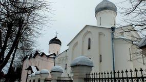 La chiesa della st Procopius in Veliky Novgorod Fotografie Stock Libere da Diritti