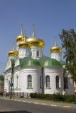 La chiesa della st Sergio di Radonež Fotografia Stock