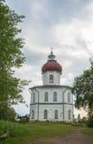La chiesa di ascensione sulla montagna di Sekirnaya su Solovki immagini stock