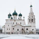 La chiesa di Elia il profeta Fotografia Stock Libera da Diritti