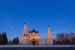 La chiesa di Elia il profeta del XVII secolo Fotografia Stock