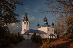 La chiesa di Kazan Gorokhovets La regione di Vladimir Della fine del settembre 2015 Fotografie Stock Libere da Diritti